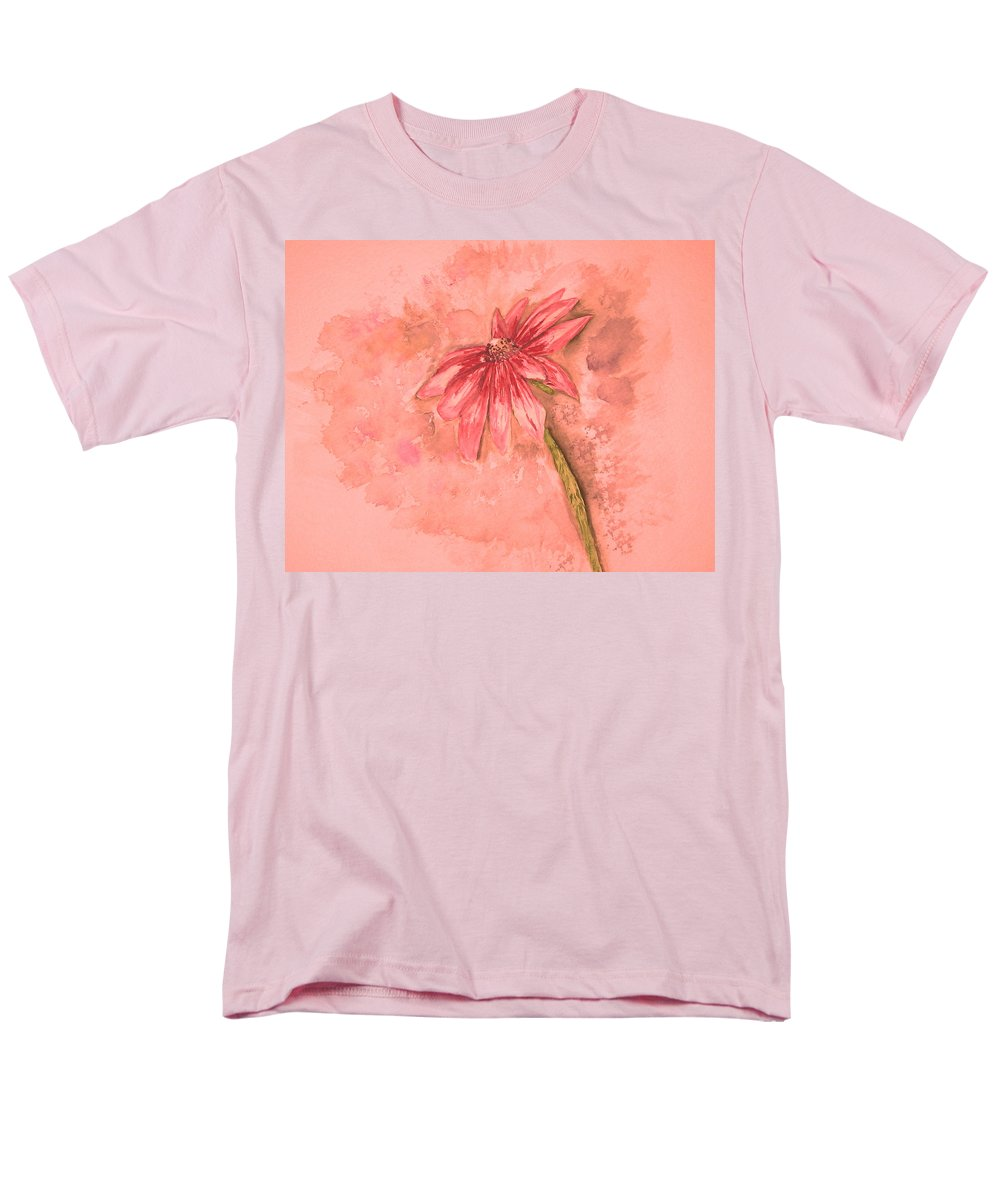 Watercolor Men's T-Shirt (Regular Fit) featuring the painting Melancholoy by Crystal Hubbard