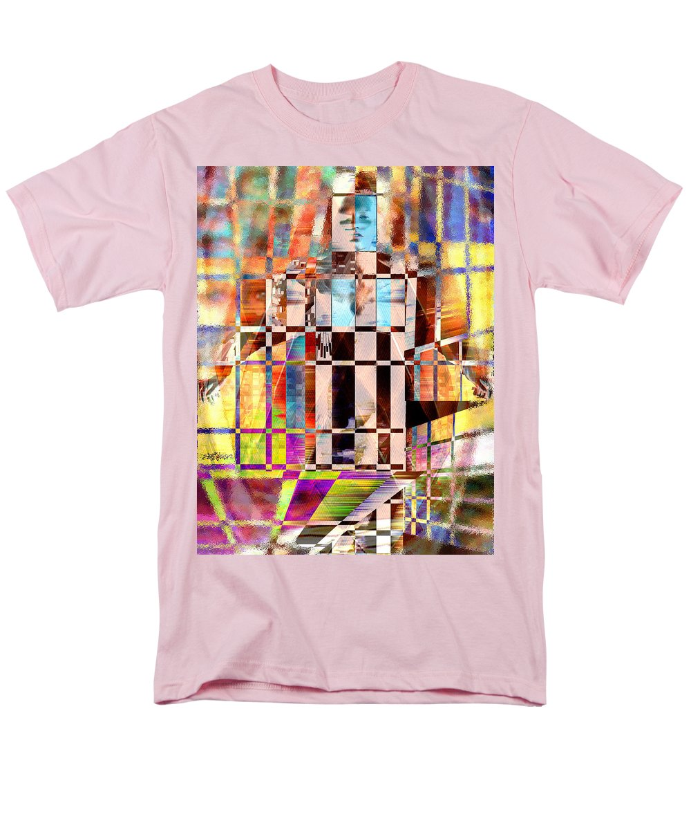 Abstract Men's T-Shirt (Regular Fit) featuring the photograph Captivia by Seth Weaver