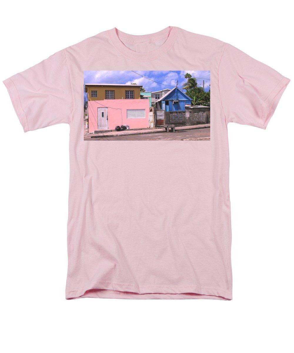 Basseterre Men's T-Shirt (Regular Fit) featuring the photograph Far From Dull by Ian MacDonald