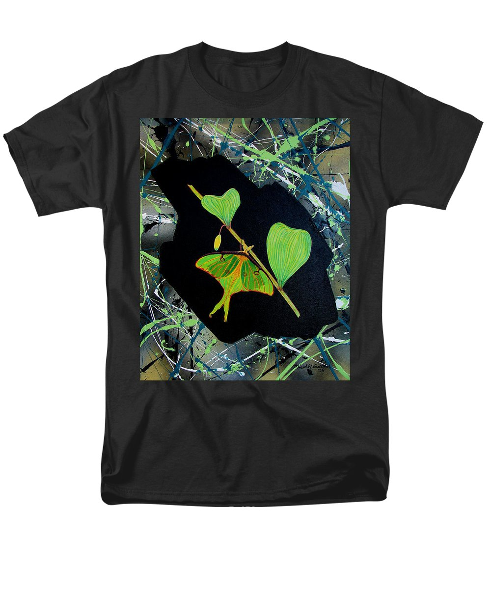 Abstract Men's T-Shirt (Regular Fit) featuring the painting Imperfect IIi by Micah Guenther