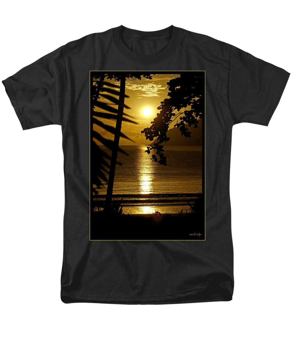 Landscapes Men's T-Shirt (Regular Fit) featuring the photograph Shimmer by Holly Kempe