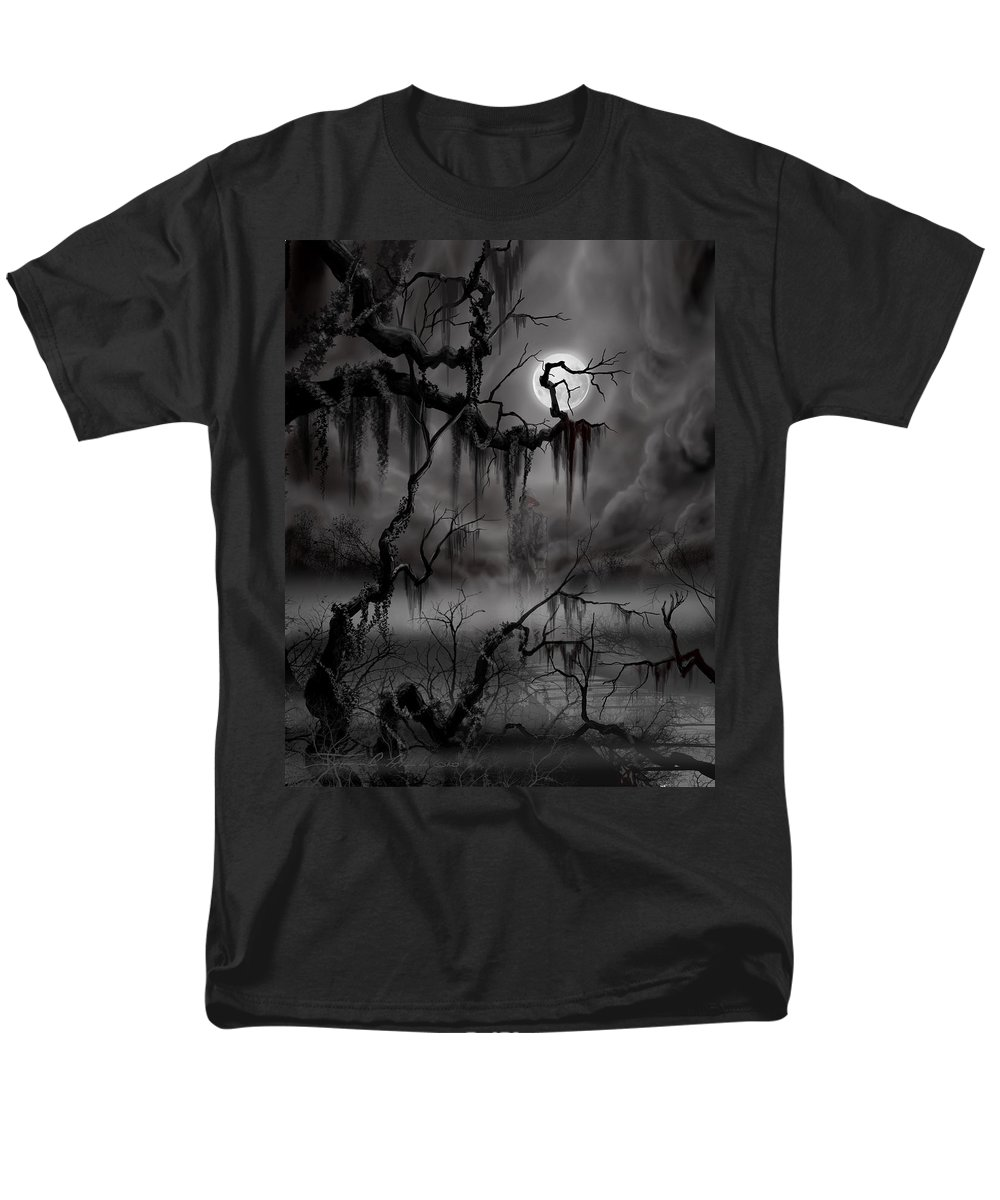 Charleston Men's T-Shirt (Regular Fit) featuring the painting The Hanged Man II by James Christopher Hill