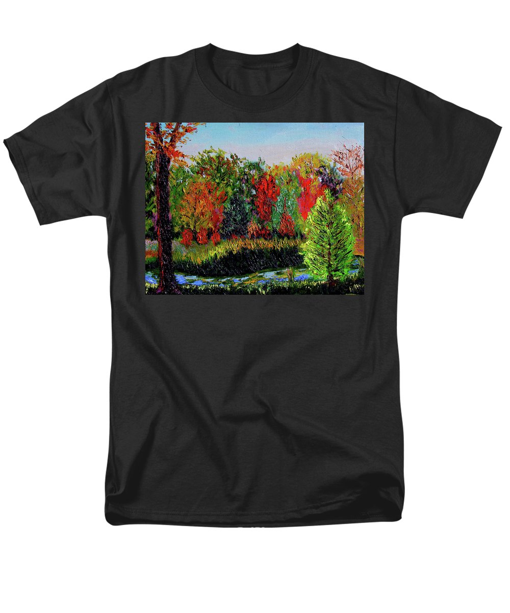 Plein Air Men's T-Shirt (Regular Fit) featuring the painting Sewp 10 10 by Stan Hamilton