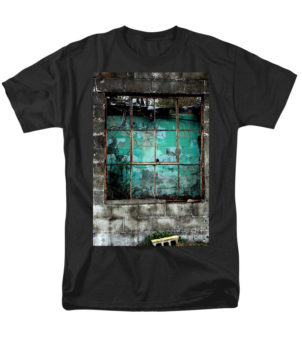 Windows Men's T-Shirt (Regular Fit) featuring the photograph Window by Amanda Barcon