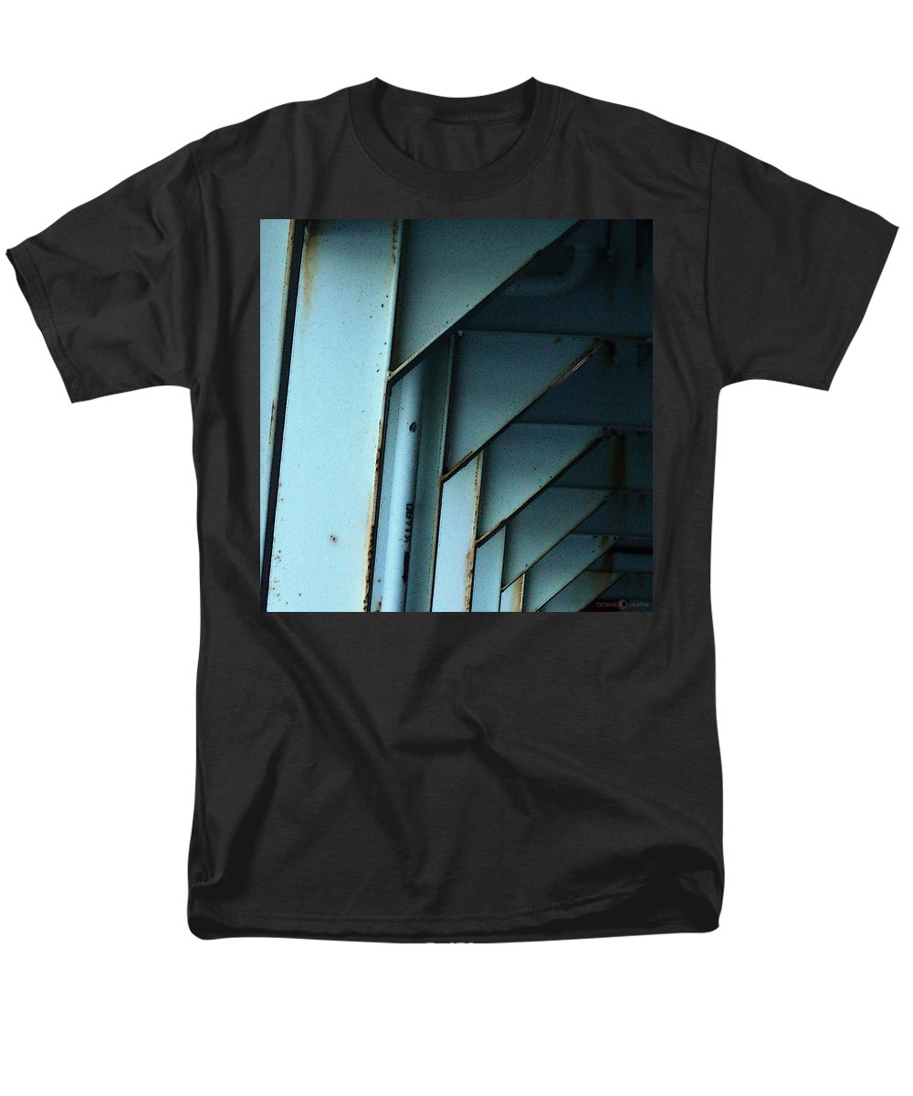 Ferry Men's T-Shirt (Regular Fit) featuring the photograph Car Ferry by Tim Nyberg