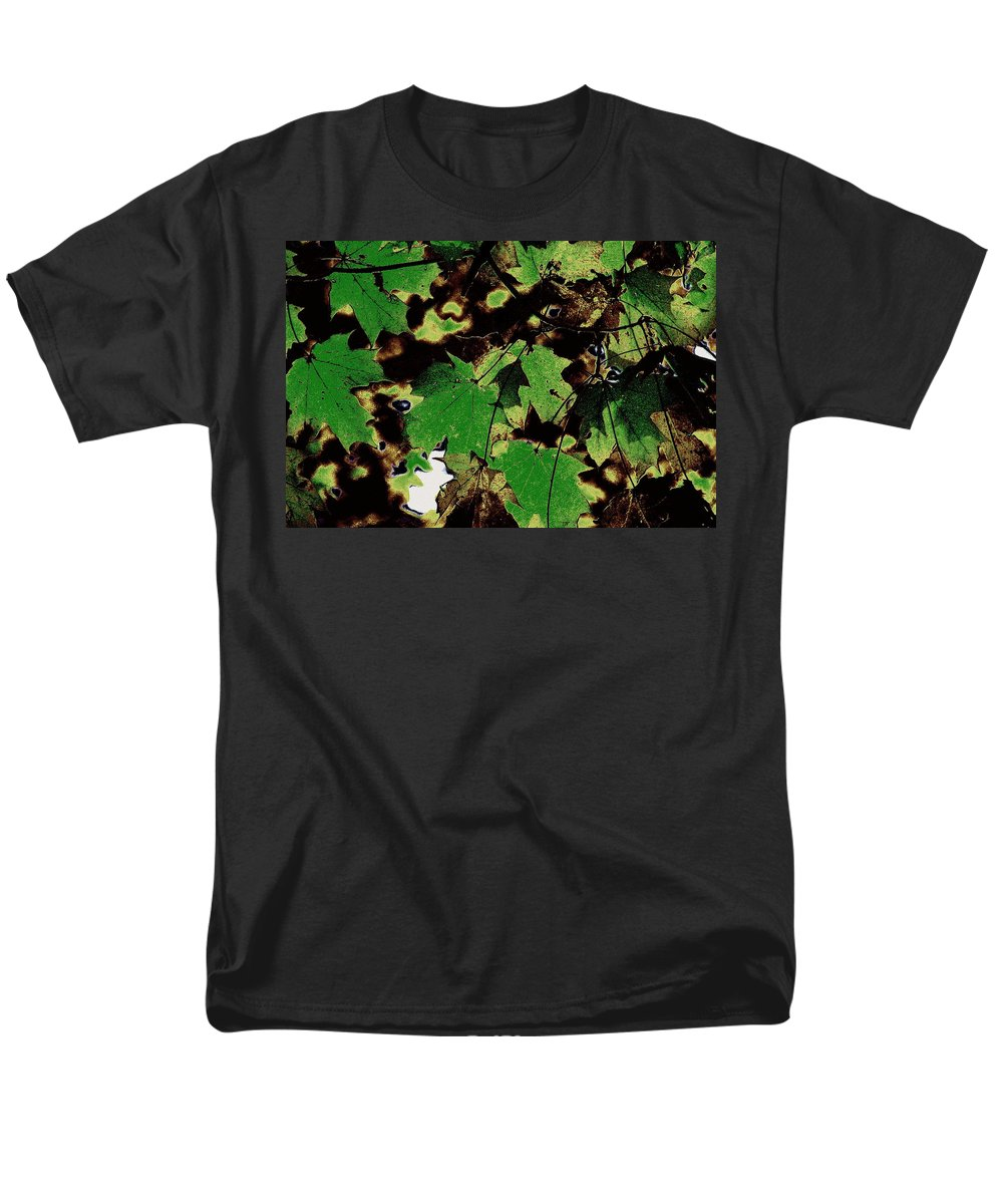 Landscape Men's T-Shirt (Regular Fit) featuring the photograph Chocolate Pudding by Edward Smith