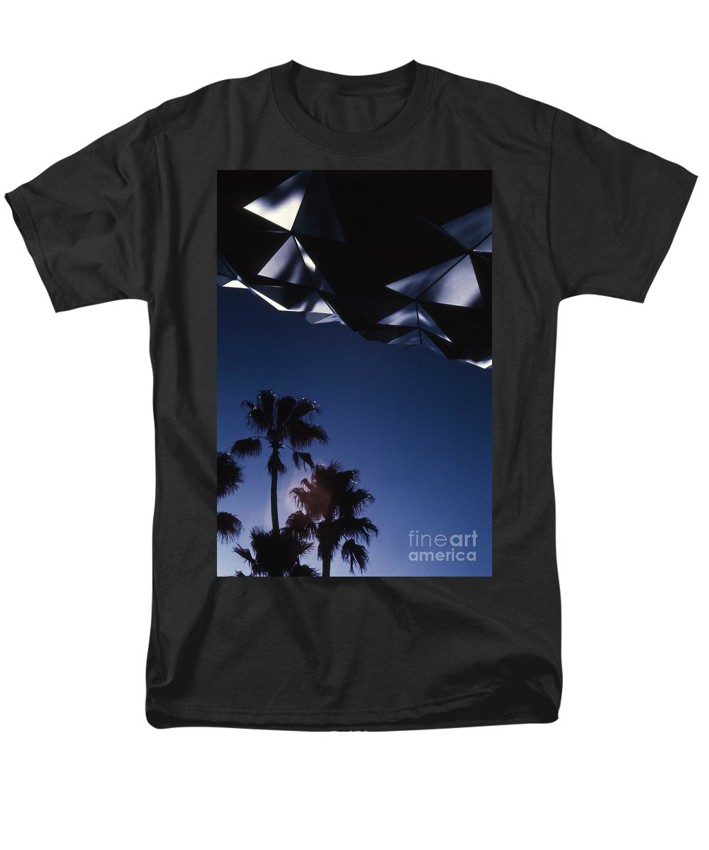 Epcot Men's T-Shirt (Regular Fit) featuring the photograph Epcot Abstract by Richard Rizzo