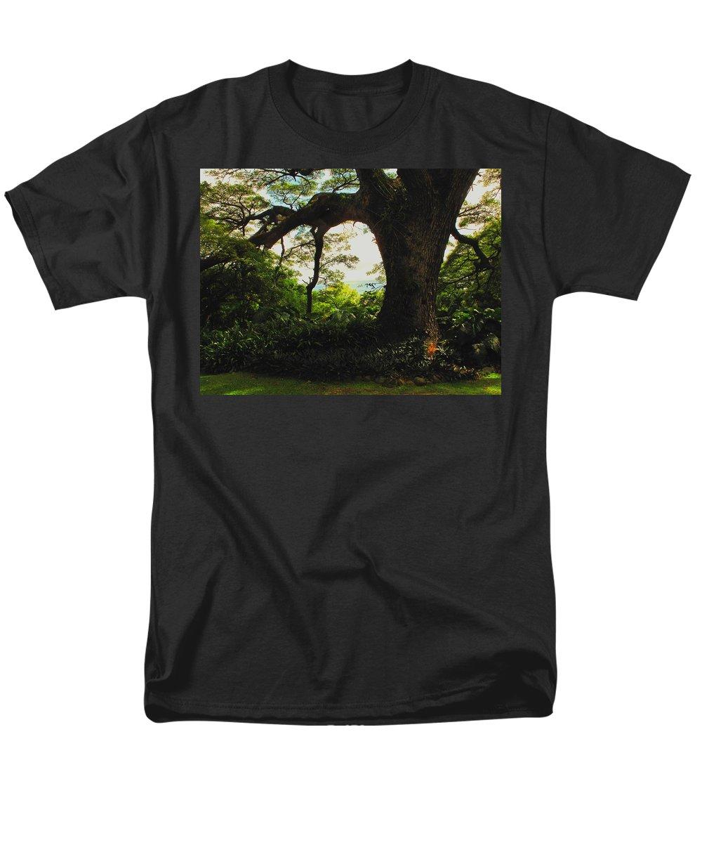 Tropical Men's T-Shirt (Regular Fit) featuring the photograph Green Giant by Ian MacDonald