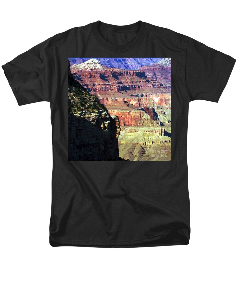 Photograph Men's T-Shirt (Regular Fit) featuring the photograph Heritage by Shelley Jones