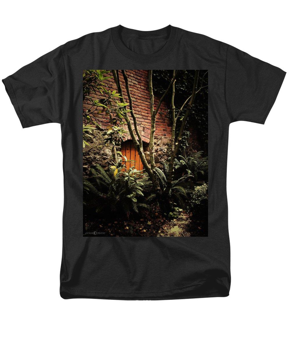 Brick Men's T-Shirt (Regular Fit) featuring the photograph Hidden Passage by Tim Nyberg