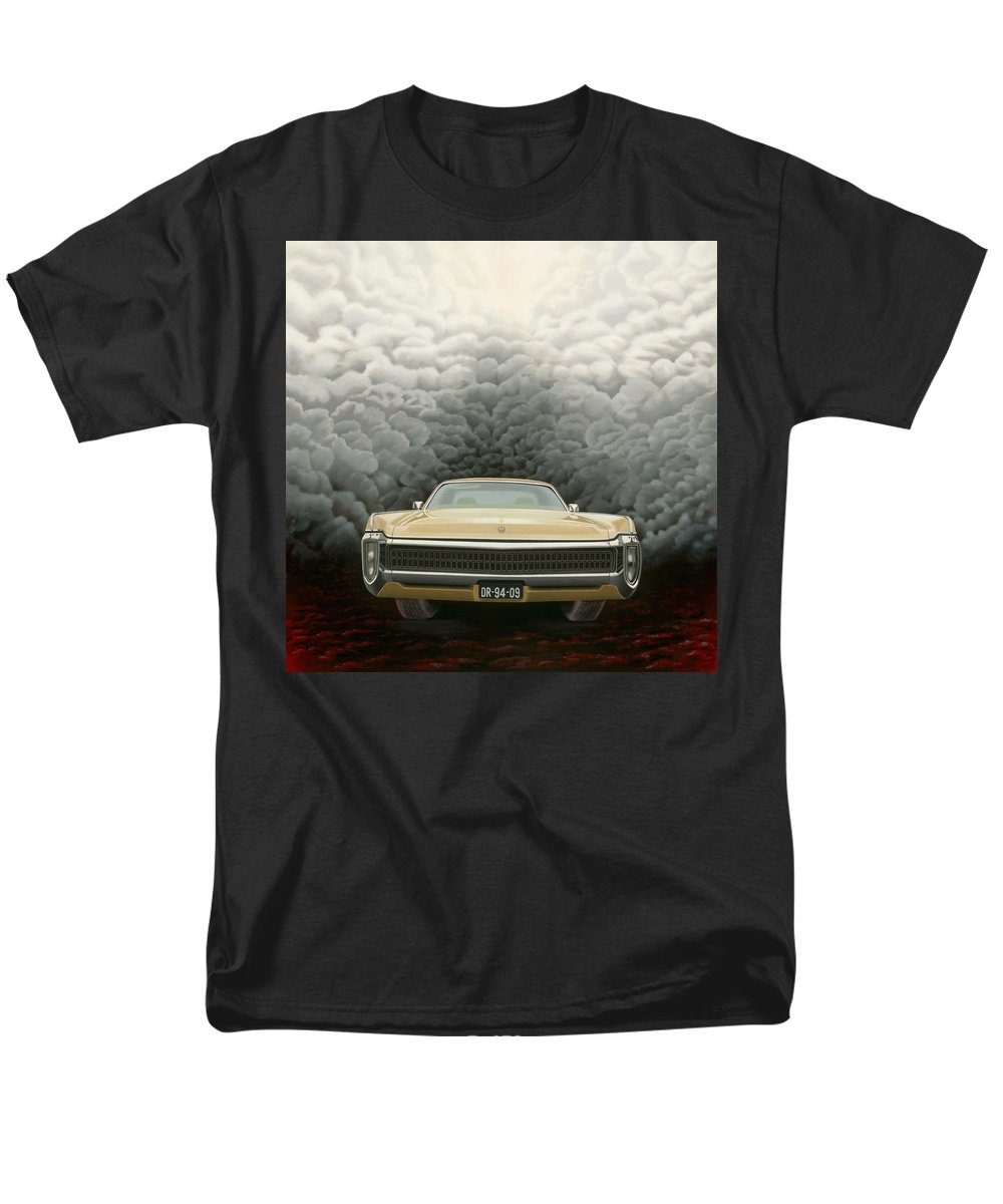Surreal Men's T-Shirt (Regular Fit) featuring the painting Imperial by Patricia Van Lubeck