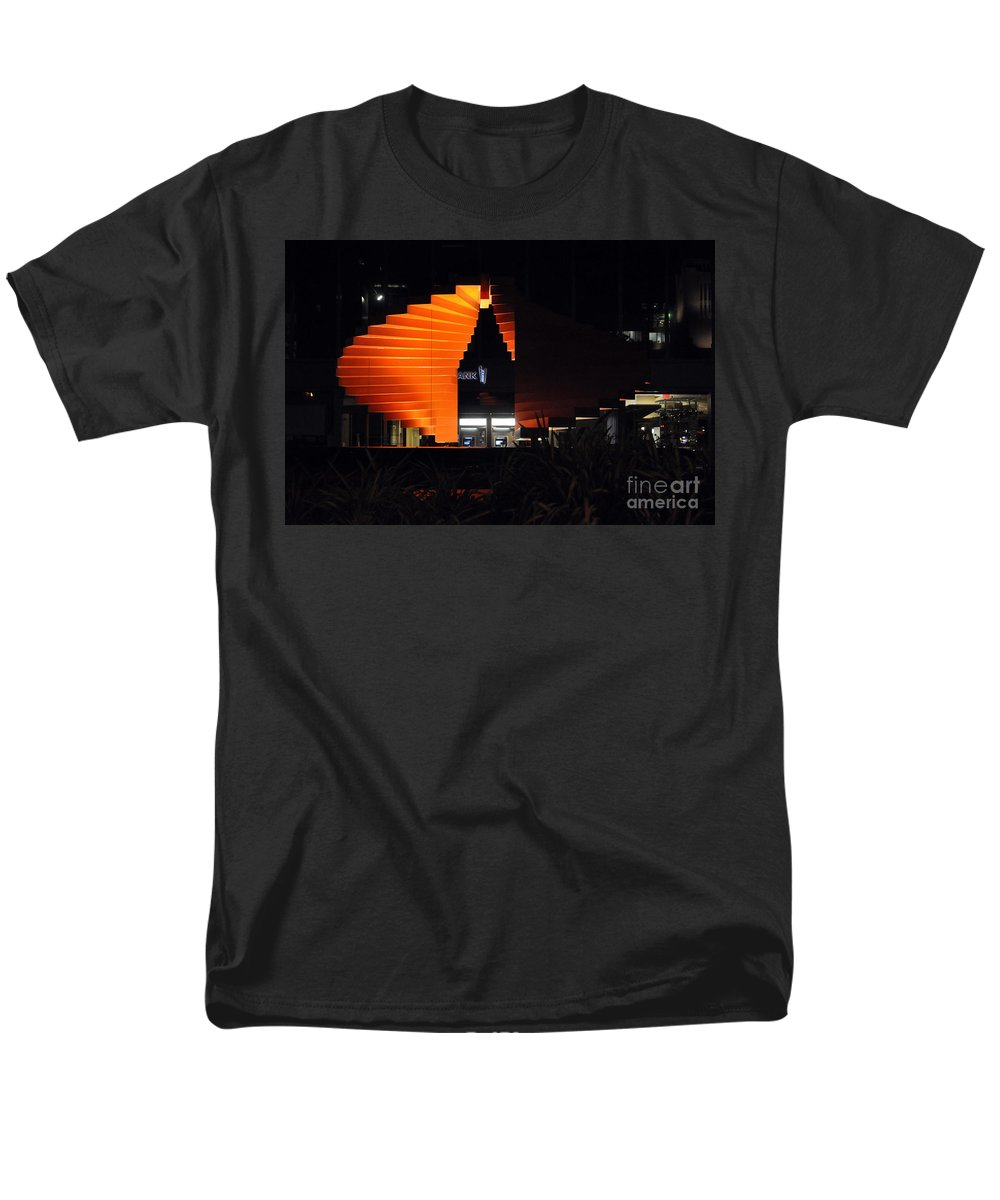 Clay Men's T-Shirt (Regular Fit) featuring the photograph L.A. Nights by Clayton Bruster