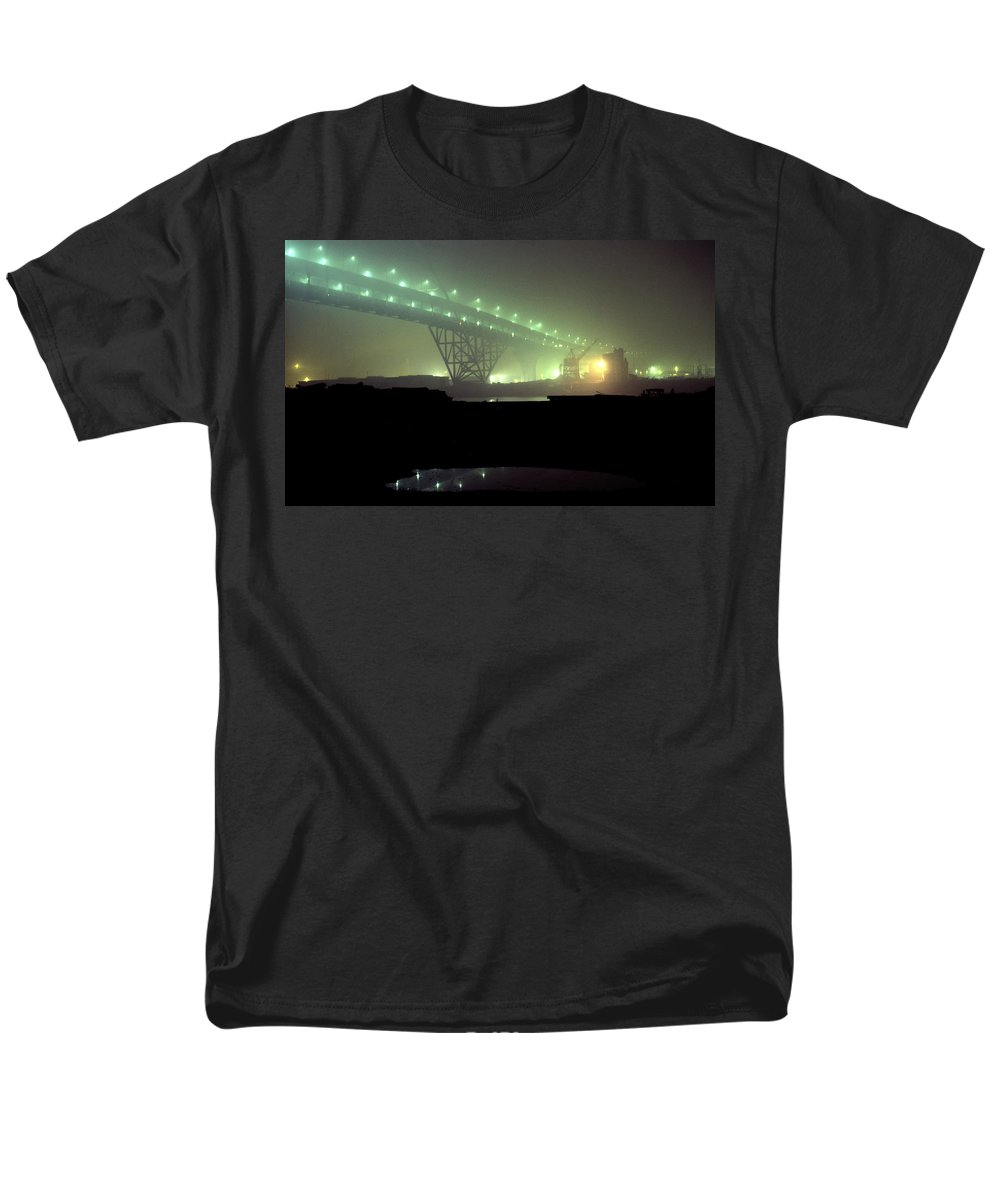 Night Photo Men's T-Shirt (Regular Fit) featuring the photograph Nightscape 3 by Lee Santa
