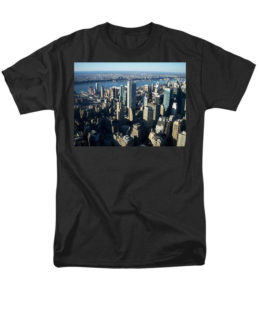 Nyc Men's T-Shirt (Regular Fit) featuring the photograph Nyc 1 by Anita Burgermeister