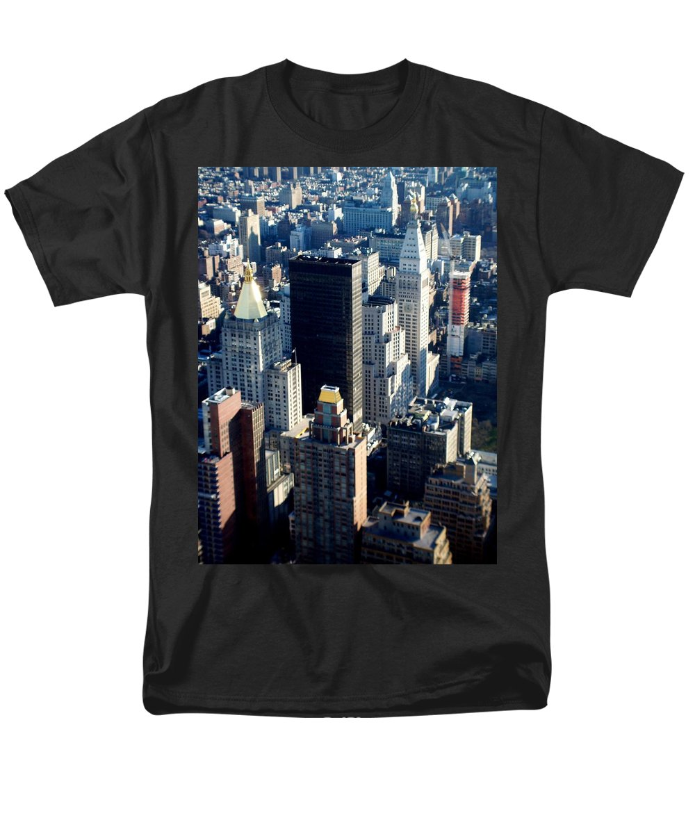 Nyc Men's T-Shirt (Regular Fit) featuring the photograph Nyc 2 by Anita Burgermeister