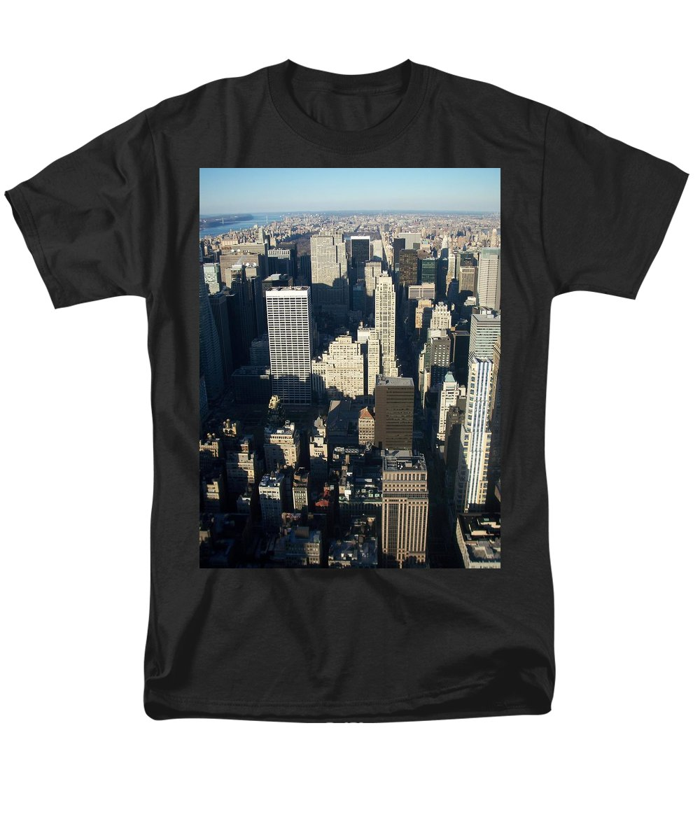 Nyc Men's T-Shirt (Regular Fit) featuring the photograph Nyc 5 by Anita Burgermeister