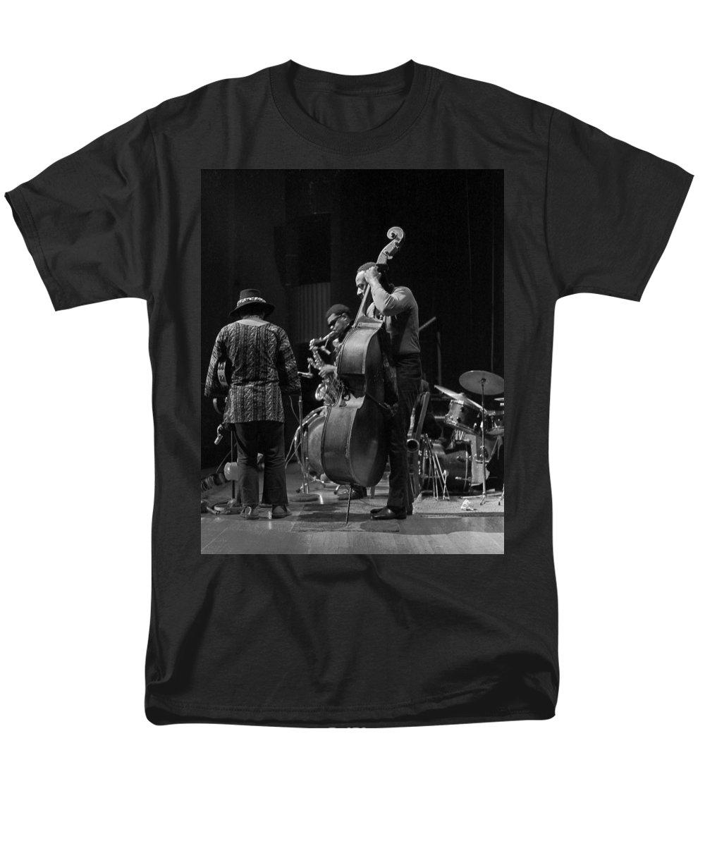 Rahsaan Roland Kirk Men's T-Shirt (Regular Fit) featuring the photograph Rahsaan Roland Kirk 2 by Lee Santa