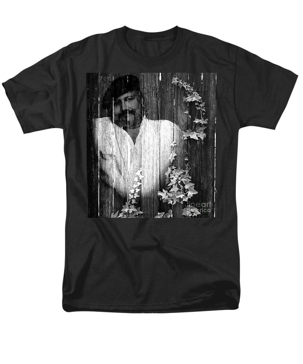 Clay Men's T-Shirt (Regular Fit) featuring the photograph Self Portrait by Clayton Bruster