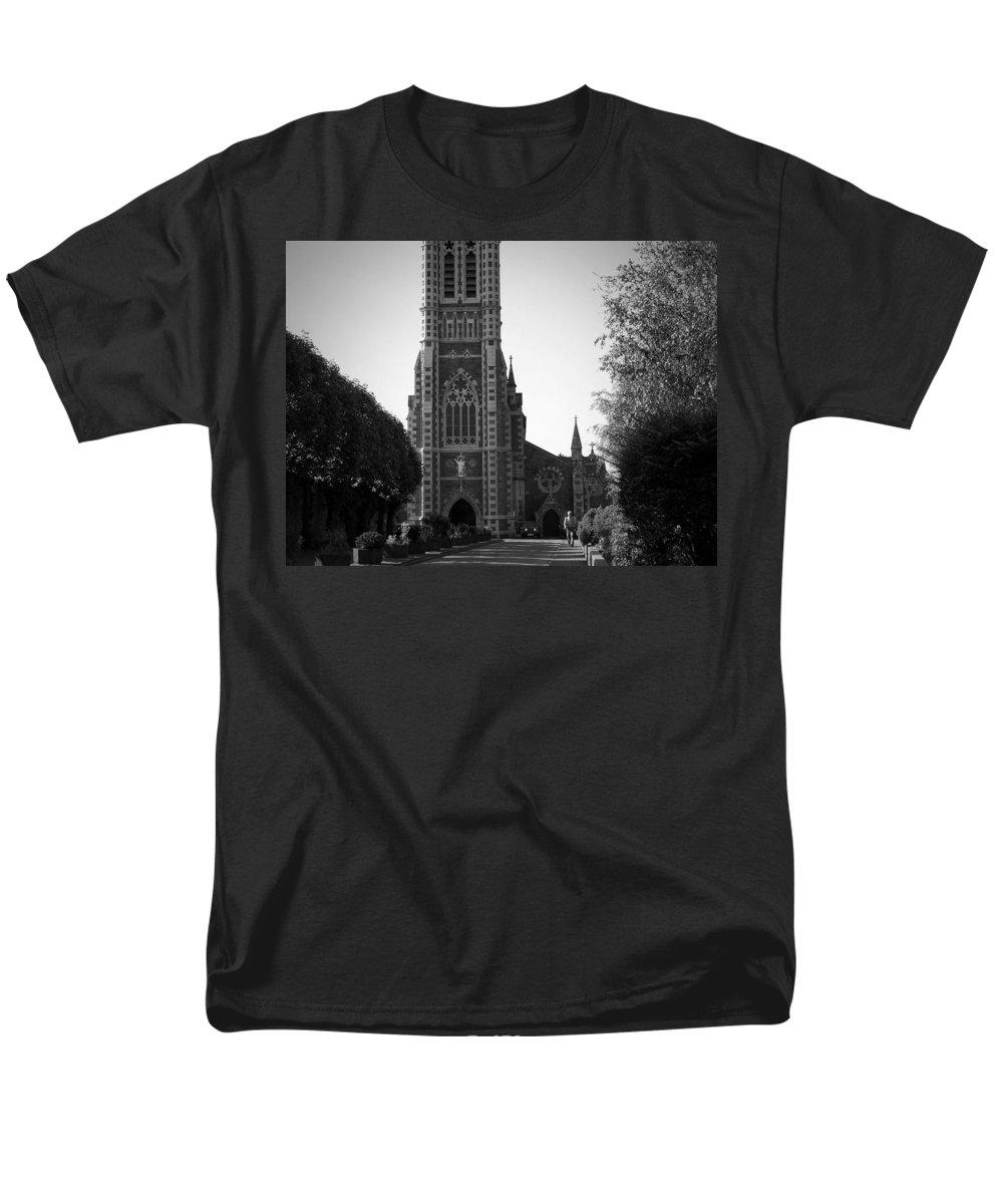 Irish Men's T-Shirt (Regular Fit) featuring the photograph St. John's Church Tralee Ireland by Teresa Mucha
