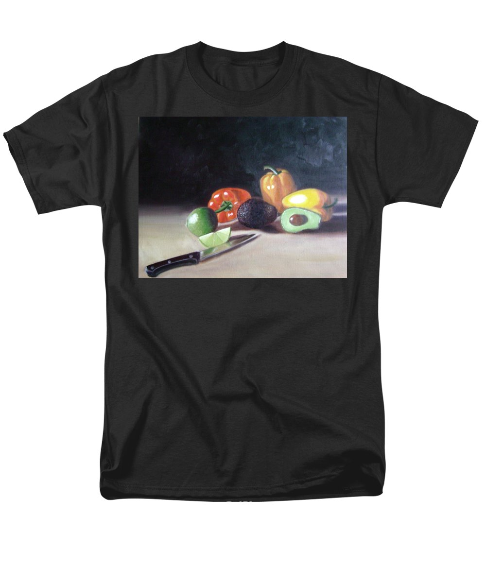 Men's T-Shirt (Regular Fit) featuring the painting Still-life by Toni Berry