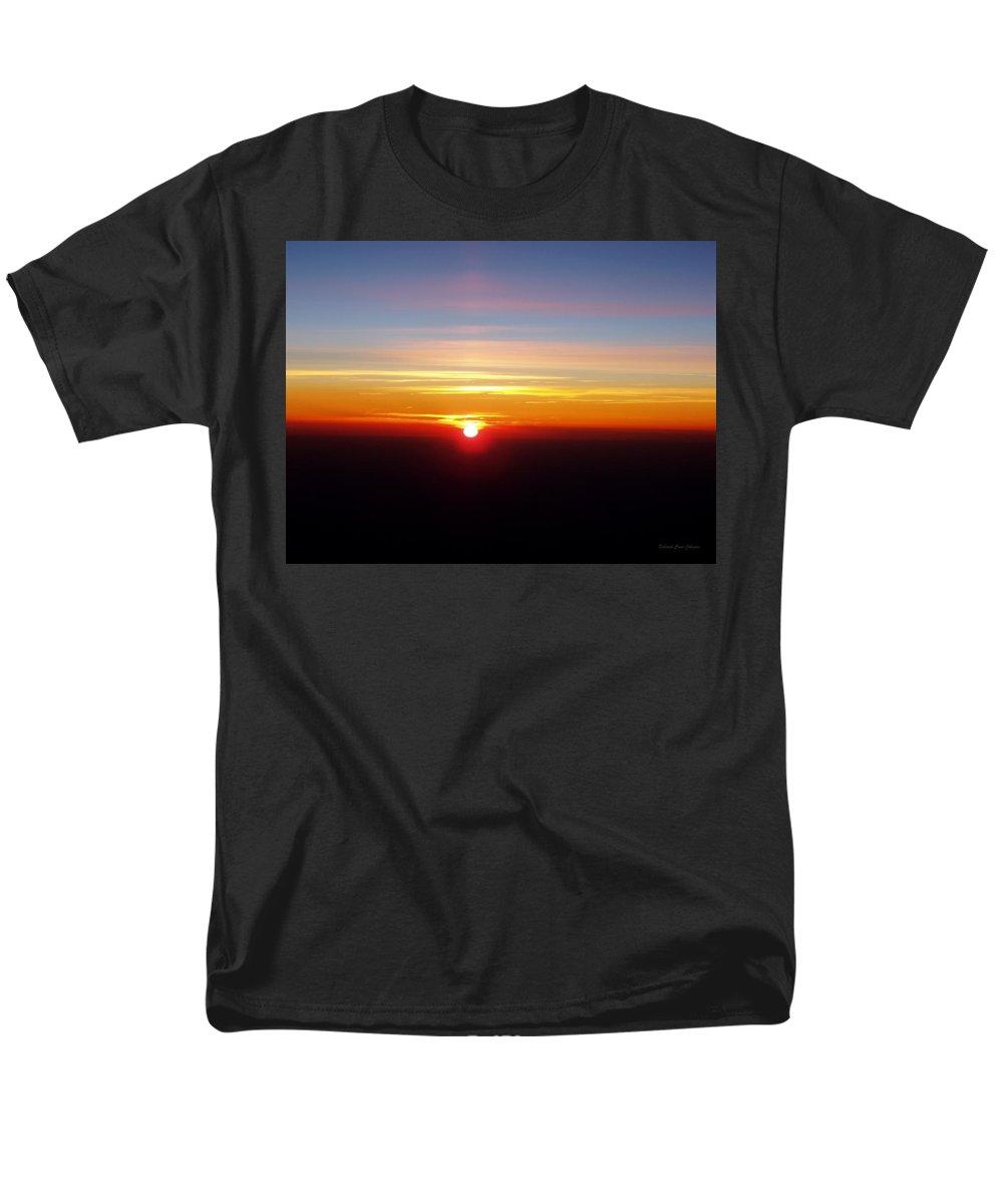 Pastel Men's T-Shirt (Regular Fit) featuring the photograph Sunset II by Deborah Crew-Johnson
