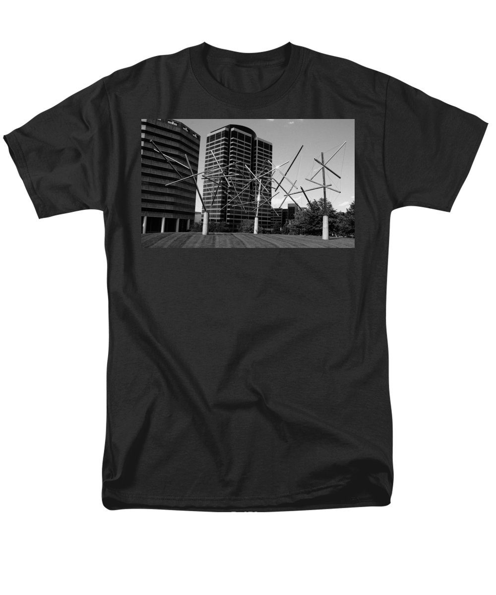 Metal Men's T-Shirt (Regular Fit) featuring the photograph Suspended by Angus Hooper Iii