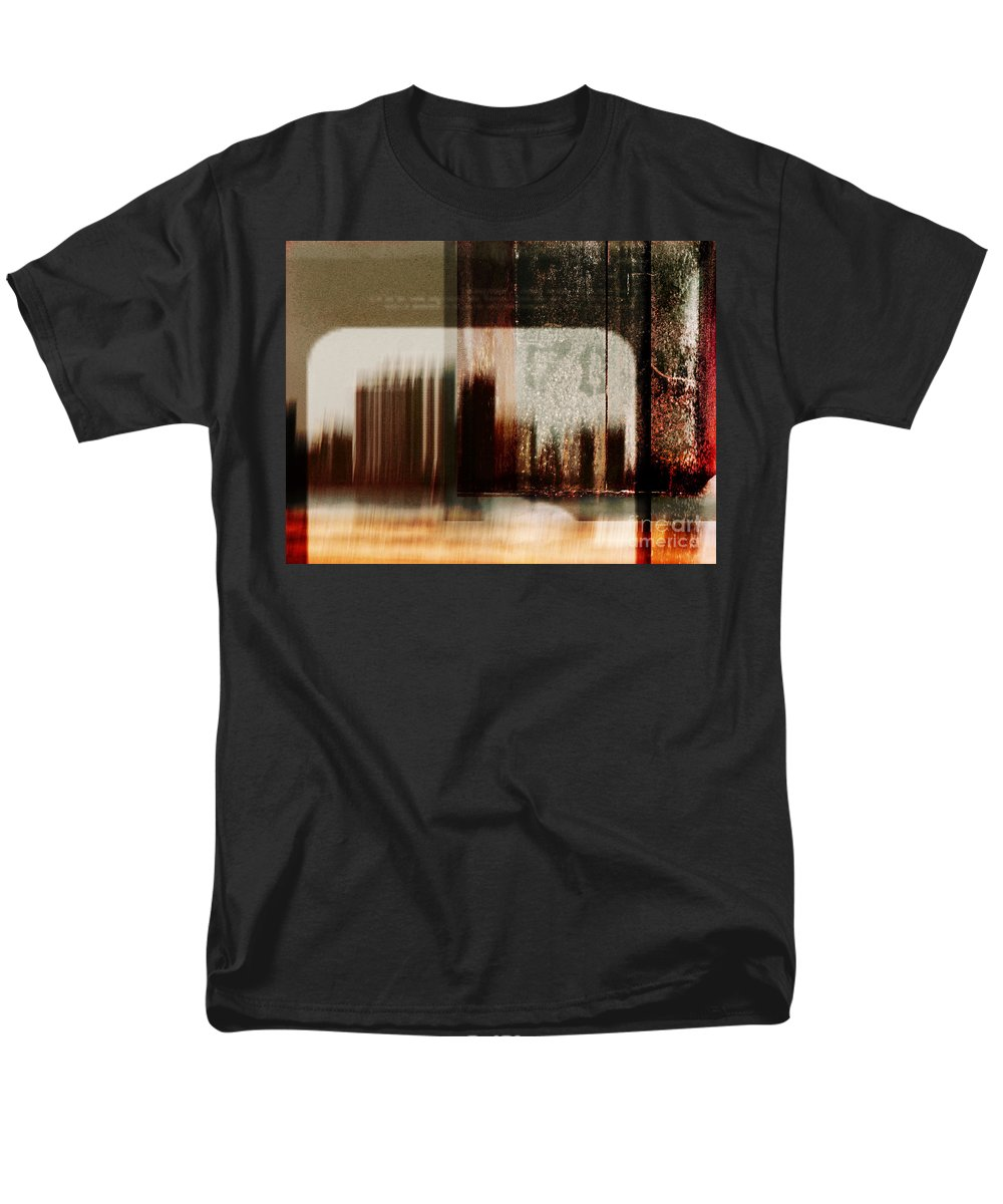 Dipasquale Men's T-Shirt (Regular Fit) featuring the photograph That Day in the City When We Lost Track of Time by Dana DiPasquale
