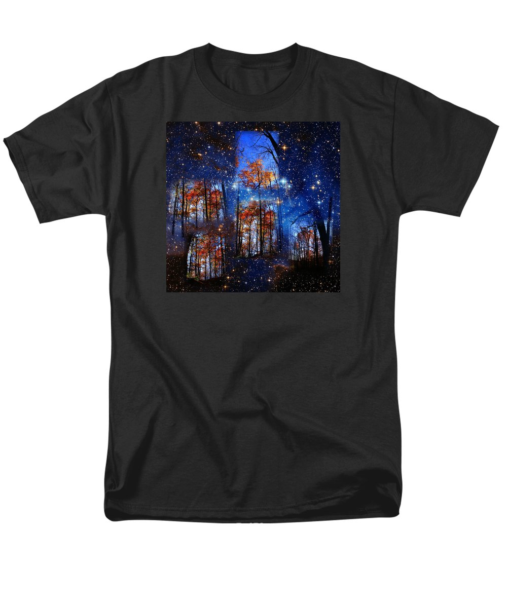 Deep Space Men's T-Shirt (Regular Fit) featuring the photograph The Face of Forever by Dave Martsolf