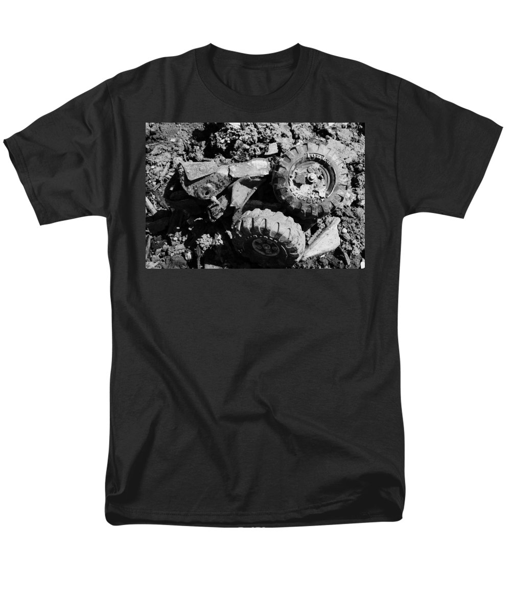 Toy Men's T-Shirt (Regular Fit) featuring the photograph Tossed Toy by Angus Hooper Iii