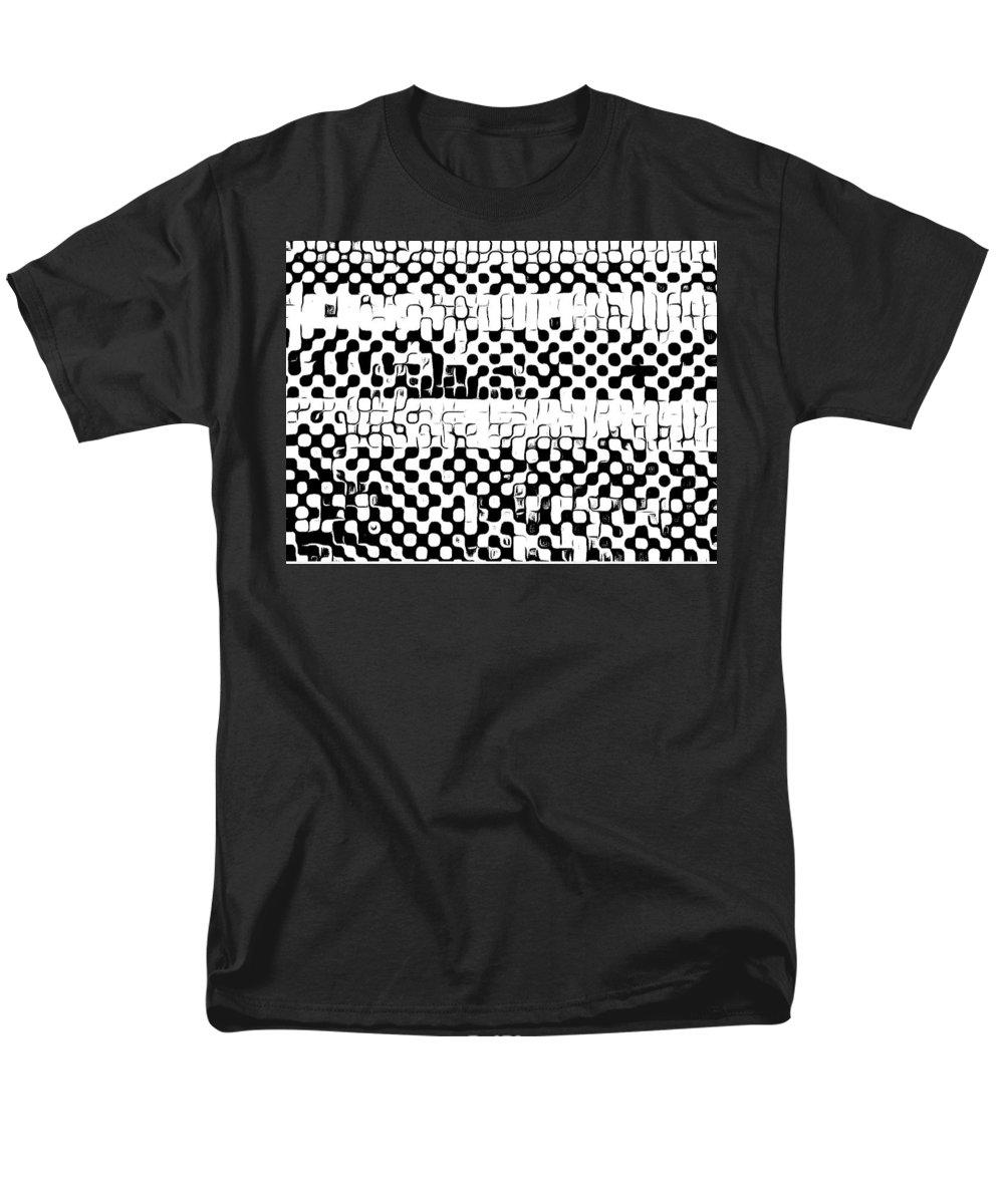 Art Men's T-Shirt (Regular Fit) featuring the digital art Details by Andrew Johnson