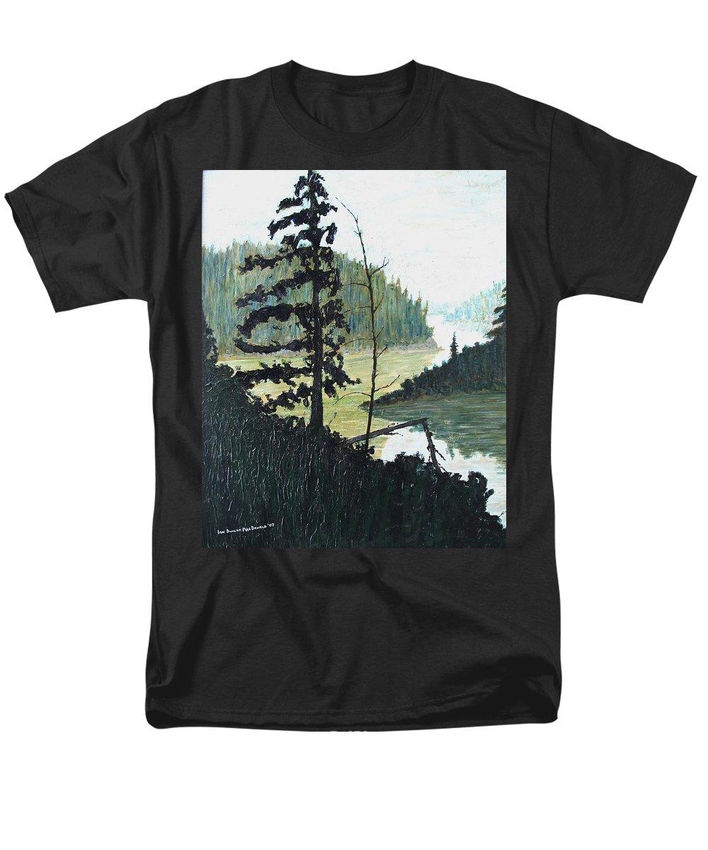 Sudbury Men's T-Shirt (Regular Fit) featuring the painting South of Sudbury by Ian MacDonald