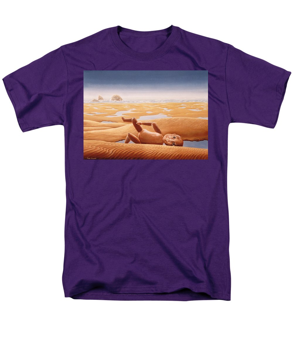 Surreal Men's T-Shirt (Regular Fit) featuring the painting Lost in a Dream by Mark Cawood