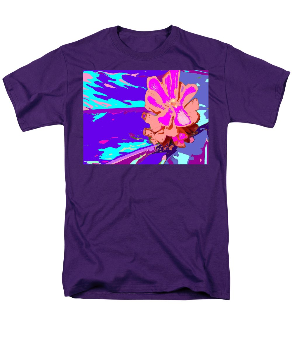 Flower Men's T-Shirt (Regular Fit) featuring the photograph Mystical Flower by Ian MacDonald