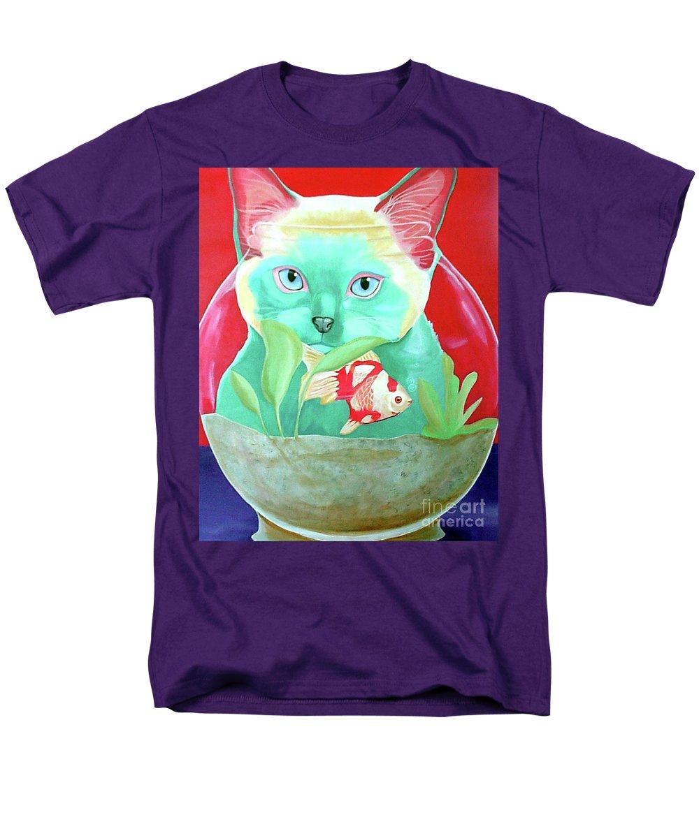 Infinite Possibilities Men's T-Shirt (Regular Fit) featuring the painting Infinite Possibilities by Jody Wright