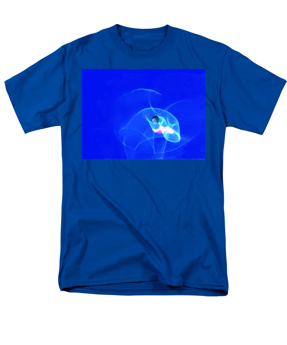 Abstract Men's T-Shirt (Regular Fit) featuring the photograph Apparition pearl by Steve Karol