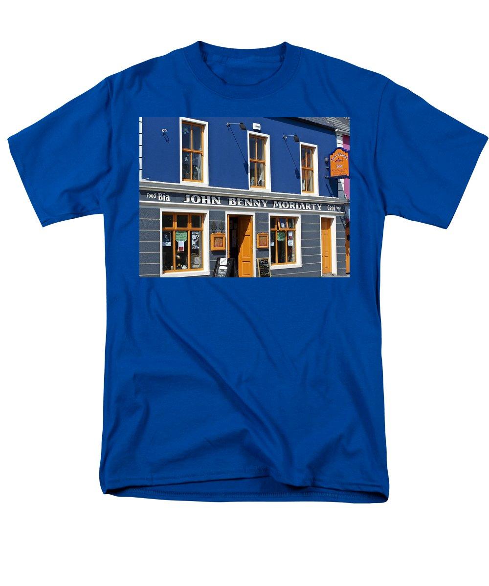 Irish Men's T-Shirt (Regular Fit) featuring the photograph John Benny by Teresa Mucha