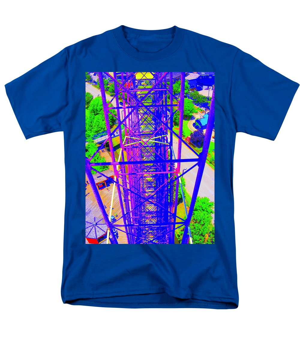 Still Life Men's T-Shirt (Regular Fit) featuring the photograph On Top Of The World by Edward Smith