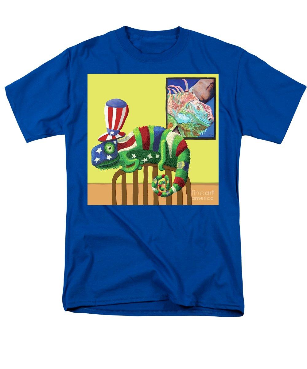 American Men's T-Shirt (Regular Fit) featuring the digital art True Colors by Jody Wright