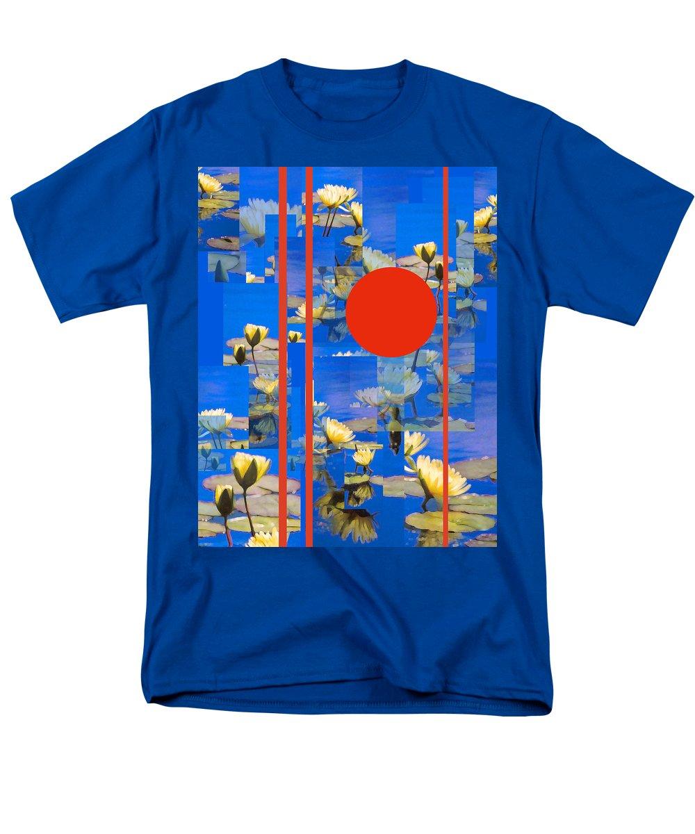 Flowers Men's T-Shirt (Regular Fit) featuring the photograph Vertical Horizon by Steve Karol