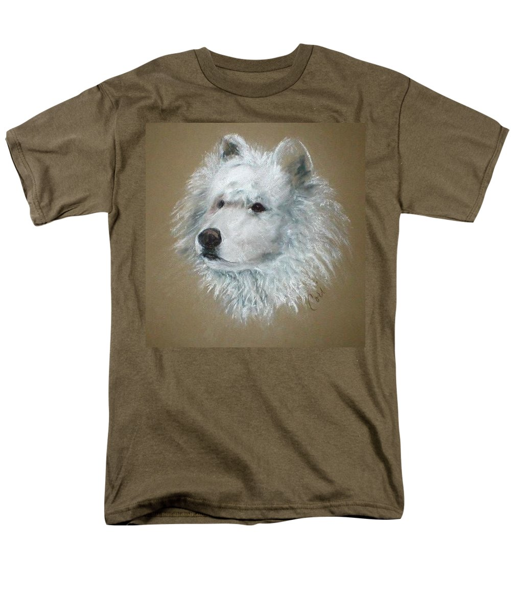 Pastel Men's T-Shirt (Regular Fit) featuring the drawing Arctic Majestry by Cori Solomon