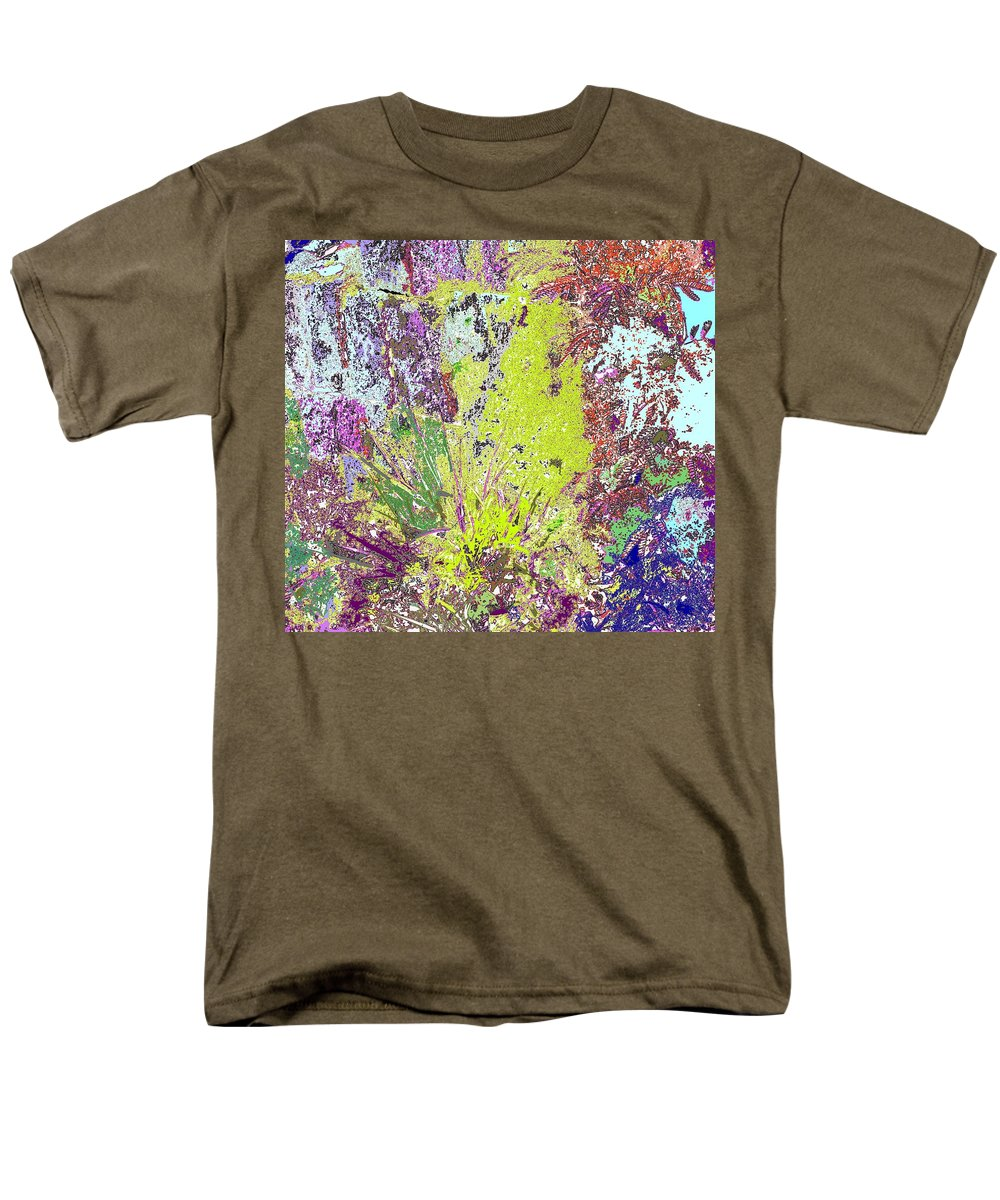 Abstract Men's T-Shirt (Regular Fit) featuring the photograph Brimstone Fantasy by Ian MacDonald
