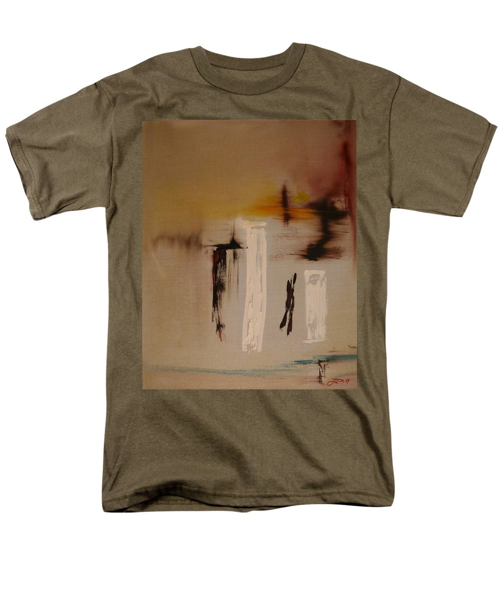 Art Men's T-Shirt (Regular Fit) featuring the painting Easy by Jack Diamond
