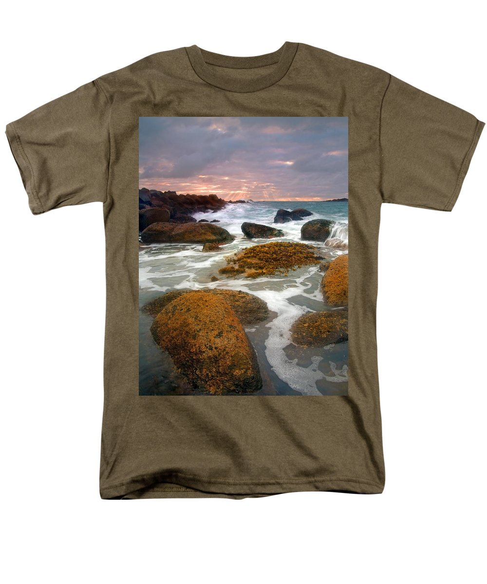 Sunrise Men's T-Shirt (Regular Fit) featuring the photograph Heavenly Dawning by Mike Dawson