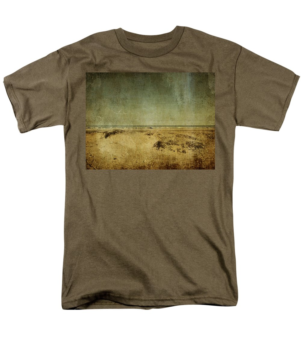 Beach Men's T-Shirt (Regular Fit) featuring the photograph I Wore Your Shirt by Dana DiPasquale