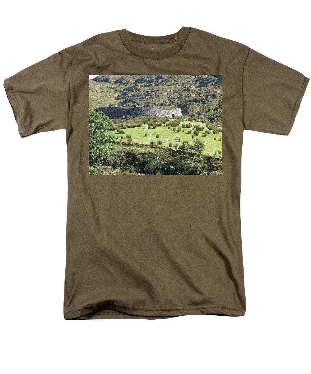 Ireland Men's T-Shirt (Regular Fit) featuring the photograph Ireland by Kelly Mezzapelle