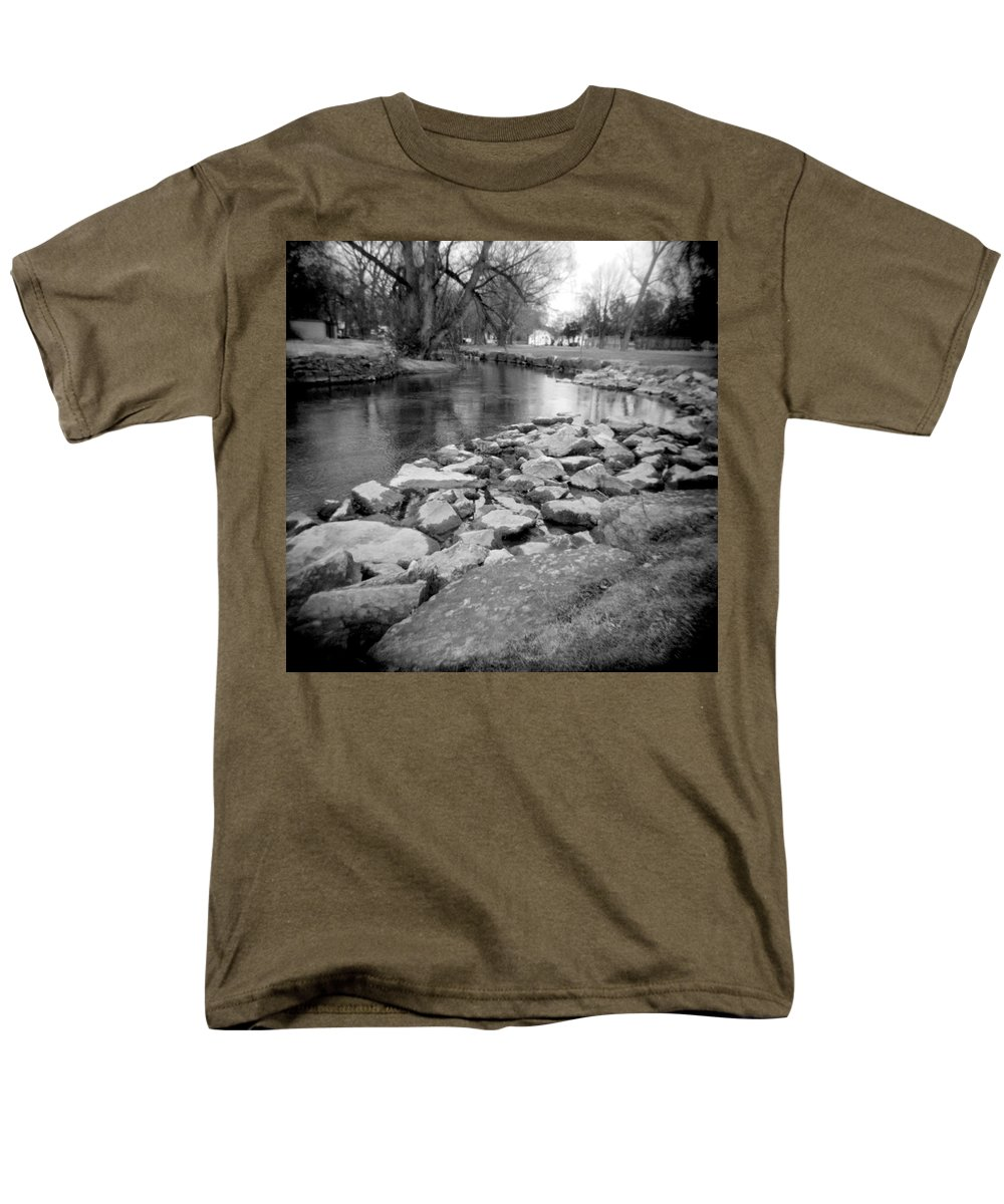 Photograph Men's T-Shirt (Regular Fit) featuring the photograph Le Tort Spring Run by Jean Macaluso