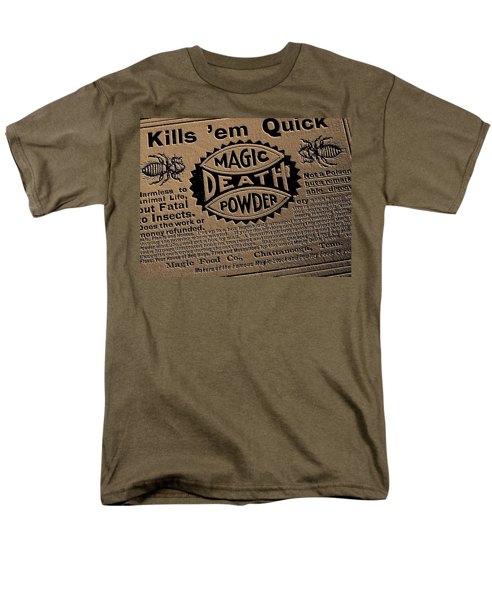 Magic Men's T-Shirt (Regular Fit) featuring the photograph Magic Death Powder by Edward Smith