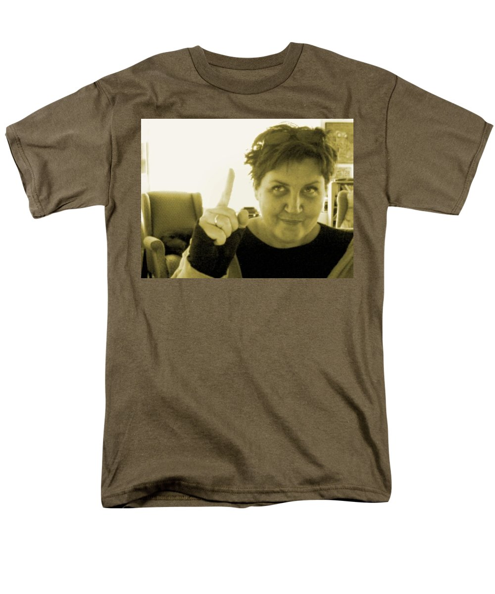 Men's T-Shirt (Regular Fit) featuring the pyrography me by Veronica Jackson