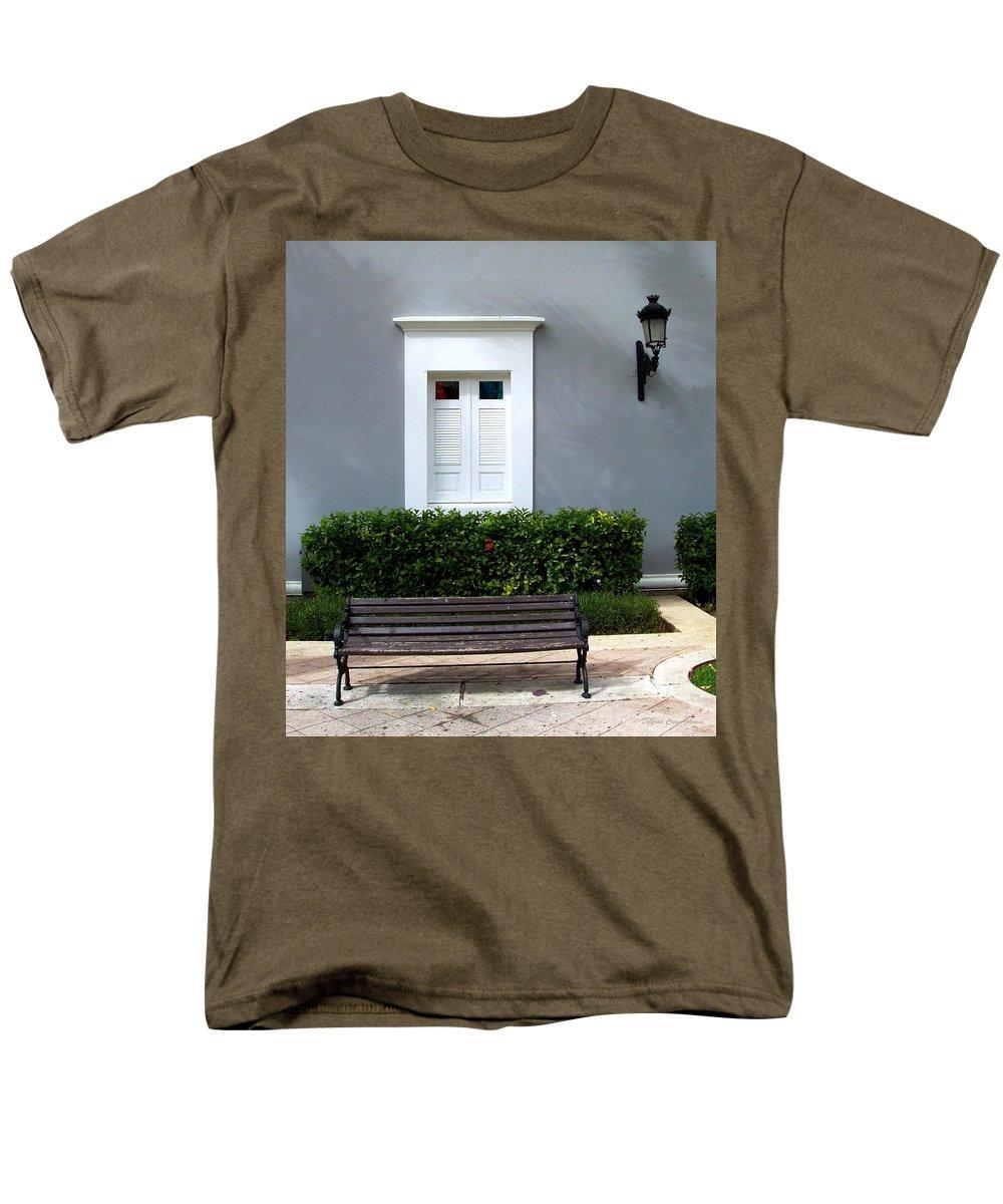 Building Men's T-Shirt (Regular Fit) featuring the photograph Official Bldg by Deborah Crew-Johnson