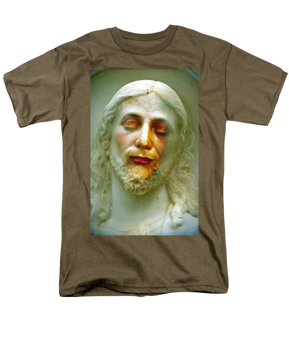 Jesus Men's T-Shirt (Regular Fit) featuring the photograph Shesus by Skip Hunt